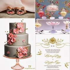 Things Festive Weddings & Events: wedding inspiration board