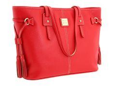 Dooney & Bourke Davis Tassel Shopper Red - Zappos.com Free Shipping BOTH Ways