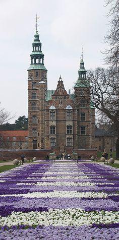 Château de Rosenborg , Copenhagen, Danemark