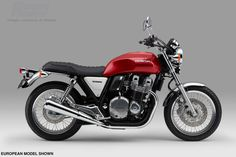 Find out more about the Honda A true modern classic motorcycle – full of retro features and a revamped, air-cooled, inline four-cylinder engine with an assist slipper clutch Retro Stil, Modern Retro, Scrambler, Honda Owners, Honda Cb1100, Cb 1000, Bobber, Retro Motorcycle, Sport Cars