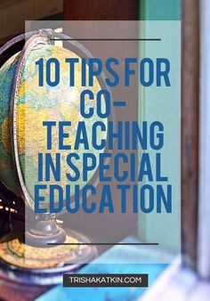 Co-teaching.  If you haven't done it before, it's coming your way. With inclusion of  students with disabilities becoming increasingly more important among  school districts co-teaching is on the rise. Special education teachers  working alongside general education teachers is becoming more of