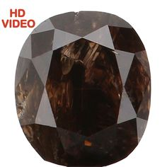0.29 Ct Natural Loose Diamond Cut Oval Yellowish Black Color 4.00 MM I2 N5230 #NarshihaGemAndJewels