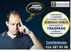 Que en este Diciembre no sea una preocupacion con ese carro que vendio y aun esta a su nombre. Le tenemos la solucion. Llamenos. www.tramisander.com