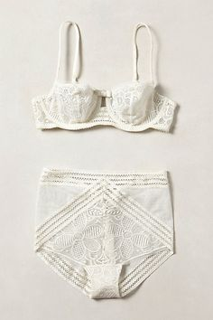 Faenza Balconette Bra - anthropologie.com