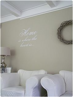home is where the heart is. Home Living Room, Interior, Home Decor Decals, Elegant Homes, Beautiful Interiors, Home Decor, Home Deco, Home Diy, Home And Living
