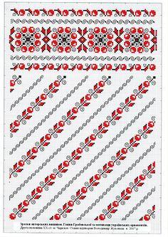 Cross Stitch Borders, Cross Stitch Charts, Cross Stitch Designs, Cross Stitching, Cross Stitch Patterns, Hardanger Embroidery, Folk Embroidery, Embroidery Patterns, Needlepoint Designs