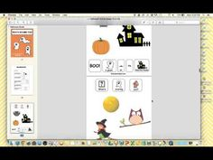 Video Preview of Halloween Adapted Books by theautismhelper.com.