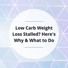 It is frustrating when weight loss stalls. In this post, I'll share six reasons why it happens and what you can do to accelerate your results. Weight Loss Goals, Healthy Weight Loss, What You Can Do, Superfoods, Low Carb, Stalls, Shit Happens, Super Foods