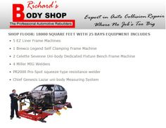 Richards Body Shop - Shop Floor Collision Repair, The Body Shop, Flooring, Shopping, Wood Flooring, Floor