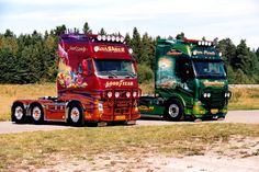 Paint Color Codes, Mercedes Truck, Show Trucks, Volvo Trucks, Big Boys, Airbrush, Rigs, Cars And Motorcycles, Vehicles