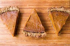 vegan pumpkin pie gluten free 4759 thumb   Vegan Holiday Recipes + My Tips For Navigating the Holidays as a Vegan