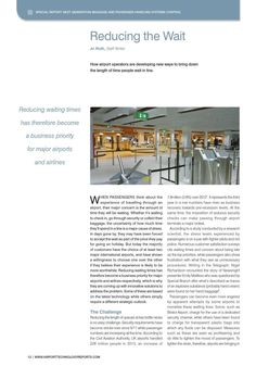 Airport Technology Reports – Next Generation Baggage and Passenger Handling Systems Control – Scarabee Aviation Training, Baggage, Handle, Technology, Tech, Tecnologia, Door Knob