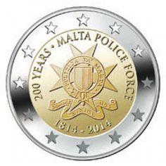 Malta 2 Euro 2014 -200 jaar Politie-