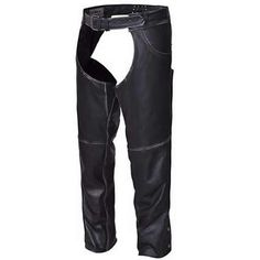 Unik Durango Biker Style Distressed Black Leather Motorcycle Chaps made of black cowhide leather with distressed gray accents, waist adjustment panel, leg zippers for easy on or off, and jean pocket style with trimmable length for men & women bikers and motorcycle riders. Cowhide Leather, Black Leather, Motorcycle Chaps, Biker Wear, Lady Biker, Biker Style, Bikers, Jeans Style, Leather Pants