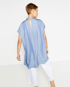 TUNIC WITH BACK DETAIL-DRESSES-WOMAN-COLLECTION AW16   ZARA United States