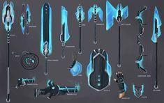 Melee energy weapons