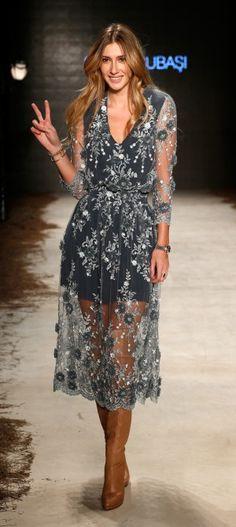 Seyma Subasi: Runway - Mercedes Benz Fashion Week Istanbul Spring/Summer 2015