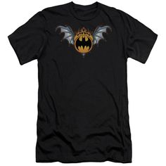 Batman - Bat Wings Logo Short Sleeve Adult 30/1