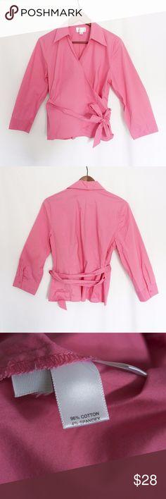 LOFT Pink Blouse Great condition. LOFT Tops Blouses