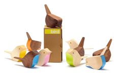 Adorable handmade wooden birds! By Jacob Pugh on MADE NORTH Store