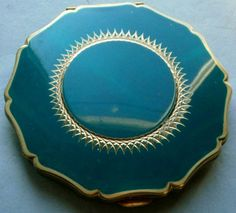 Stratton compact, made in England 1930s-40s