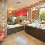 Celebrity Bathroom: Chelsea Handler (West Hollywood) #bathroominspirations more at www.boardwalknorth.com/blog