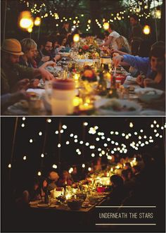in the mood for a night spent under the stars with friends....