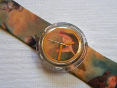 Vivienne Westwood Vintage Pop Swatch Watch: Cigar Box Putti  still have mine from the 90's wish i could get it fixed