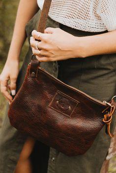 Shoulder/Cross-body Leather Bag