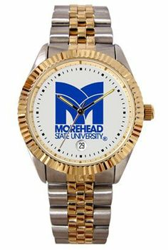 Morehead State University Eagles Mens Executive Stainless Steel Watch by SunTime. $149.99