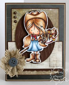 from SugarPea Designs by noreply@blogger.com (Wendy Ramlakhan) - Love the burlap flower on this.