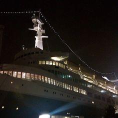 ss Rotterdam by night Photo: @lan7215