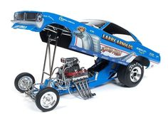 http://www.ebay.com/itm/KING-FISH-LARRY-ARNOLD-PLYMOUTH-CUDA-VINTAGE-FUNNY-CAR-AUTO-WORLD-1-18-NHRA-DRAG-/311787804788?hash=item4898005874:g:FRoAAOSwo4pYiToM