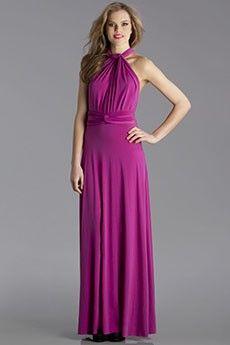Dark Pink Transformer Maxi Wrap Dress