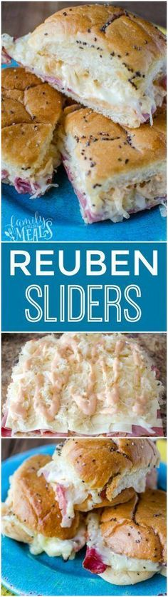 Frugal Food Items - How To Prepare Dinner And Luxuriate In Delightful Meals Without Having Shelling Out A Fortune Reuben Sliders Recipe - Yum- Reuben Sliders Recipe, Slider Sandwiches, Beef Sliders, Pastas Recipes, Cooking Recipes, Ark Recipes, Lunch Recipes, Beef Recipes, Sausage Recipes