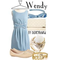 I love this collection by DisneyBound inspired by Wendy from Peter Pan.