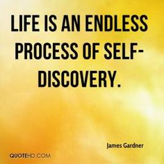 A description of the process of self identity exploration as a lifelong journey
