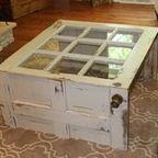 Windowpane table