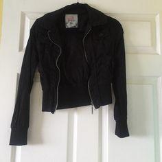 Lightweight jacket Black Poppy Jacket! Hardly ever worn! Black Poppy Jackets & Coats