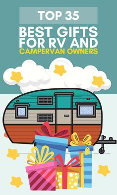 More than 70 million households in the U.S. consider themselves camping households.  Or perhaps you know one of the half-million Americans that call their RV their primary residence?  Give one our great gifts for RV & campervan owners and enable the recipient to spend time with his family out in the wilderness, making memories and disconnecting from the hustle and bustle of daily life.  #giftsforrvlovers #giftsforcamperlovers #giftsforcamping