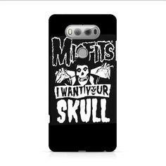 The Misfits Skull LG V20 3D Case