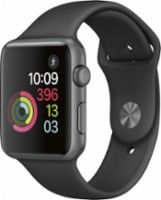 New Apple Watch for iPhone & Space Gray Aluminum Case with Black Sport Band (Series Apple Watch Series 1 Smartwatch (Space Gray Aluminum Case, Black Sport Band) Apple Watch 38mm, Buy Apple Watch, Smart Watch Apple, Apple Watch Series 2, Buy Watch, Stainless Steel Jewelry, Black Stainless Steel, Smartwatch Da Apple, Watch For Iphone