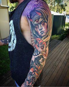 WEBSTA @ tattoo_art_worldwide - Artist: @samclarktattoos Location: Australia ------------------------------------------#tattoo_art_worldwide#tattooflash#tattoo#tattoos#ink#inked#art#artist#supportart#artists#support#art#yall #yallzee