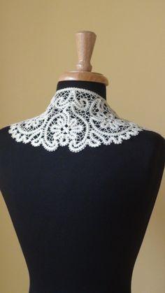 Bobbin Lace Collar by HandyMaria on Etsy