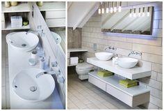 Twin sit-on basins combine luxury and convenience #geo #modular #bathroomfurniture #myutopia
