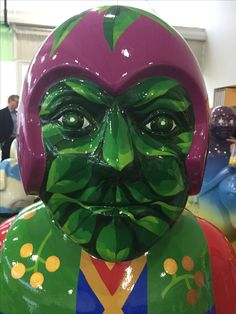 The Green Man Knight is one of 36 in the Lincoln Knights Trail 20 May - 3 September 2017