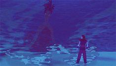 The goddess Eris from 'Sinbad'. I love her animation; it's sooooo beautiful.