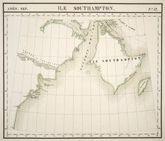 map du nunavut