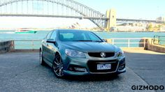 Can an updated styling pack and a fancy computer system save the age-old Holden Commodore from slipping into irrelevance? That's what the Aussie car-maker is hoping with the release of the VF Commodore Redline sedan. Chevy Ss Sedan, Pontiac G8, Chevy Girl, Holden Commodore, Redline, Tech, Australia, Cars, Model
