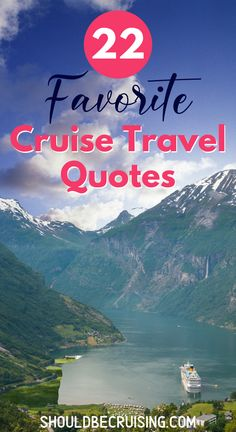 Do you love to cruise? These 22 favorite cruise travel quotes will fuel your wanderlust. All illustrated with original cruise ship and cruise port photos to make you dream of your next adventure at sea. Best Cruise, Cruise Port, Cruise Tips, Cruise Travel, Cruise Vacation, Travel Europe, Sf Travel, Vacations, Expedia Travel